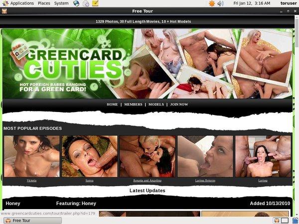 Account Green Card Cuties