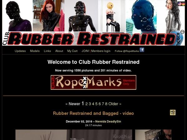 Free Clubrubberrestrained Login