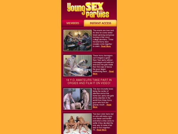 Free Mobile Young Sex Parties Code