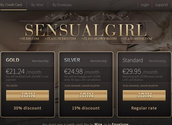 Free Sensualgirl Account And Password