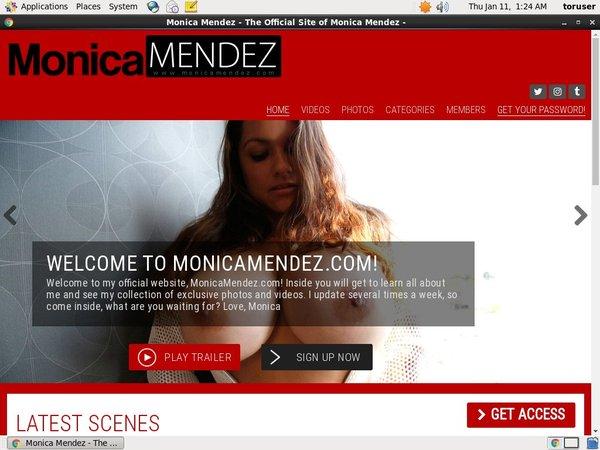 Monica Mendez Discount Price