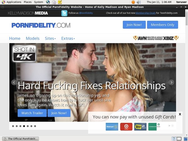 Porn Fidelity Premium Account Free
