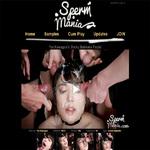 Porn Sperm Mania