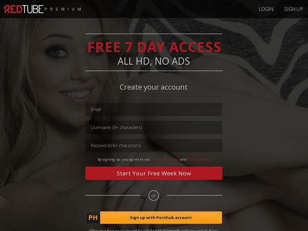 Red Tube Account Info