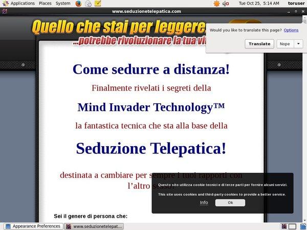 Seduzionetelepatica.com Renew Membership