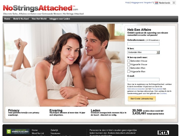 No Strings Attached Yearly Membership