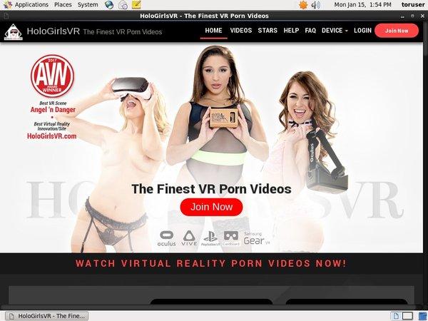 Holo Girls VR 사용자 이름