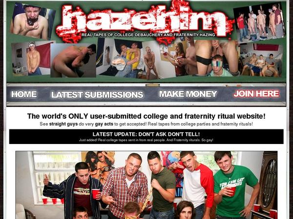 Hazehim.com Freies Konto