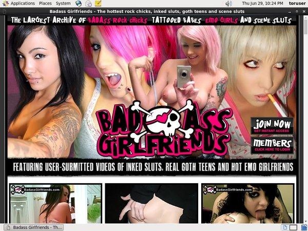Bad Ass Girlfriends User Pass
