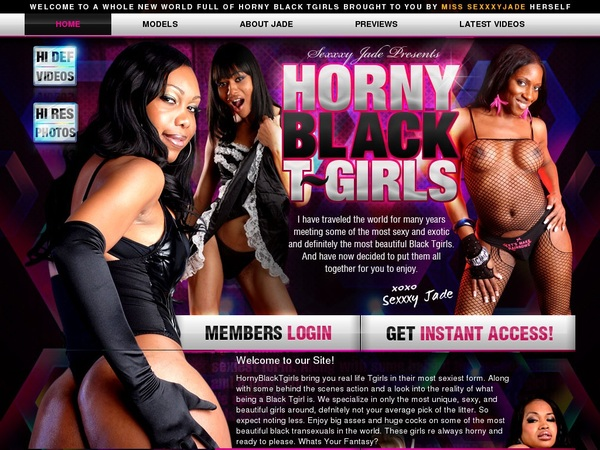 Horny Black TGirls Join Page