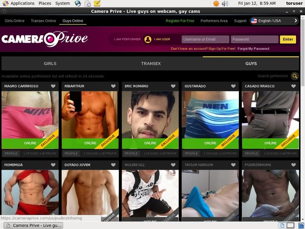 Camera Prive Gay Scenes