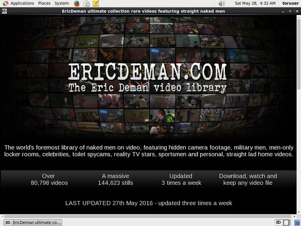 Ericdeman.com Without CC