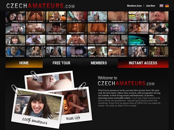 Get Free Czechamateurs.com Passwords